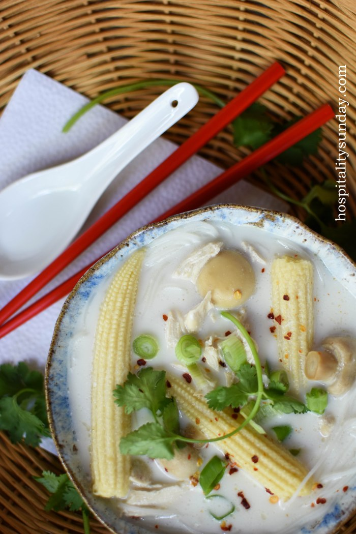 Thai-Style Coconut Chicken Soup